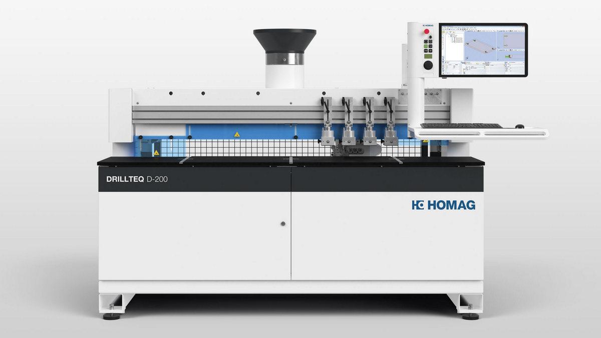 DRILLTEQ d-200 CNC