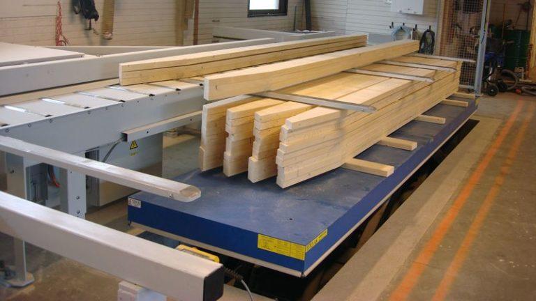 Tesařská nářezová CNC pila HOMAG Weinmann BEAMTEQ B-520