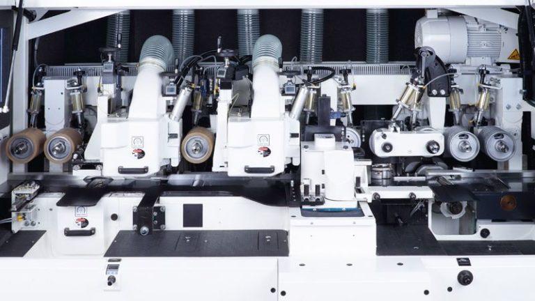 Hoblovací a profilovací automat MOULDTEQ M-300 konfigurace