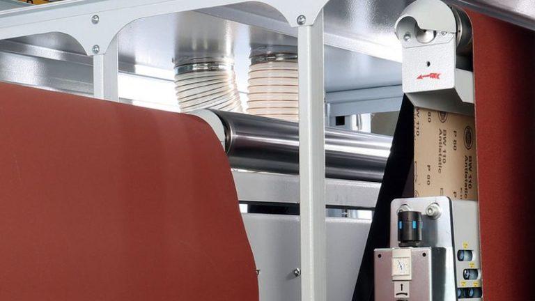 Univerzální širokopásmová bruska SANDTEQ W-200 jednoduchá instalace