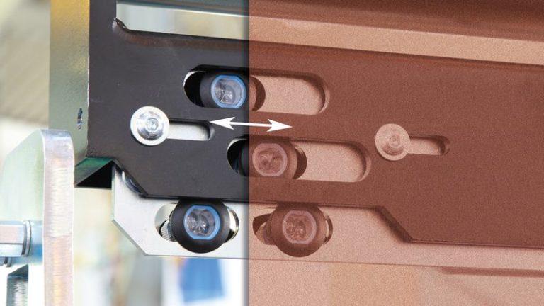 Precizní širokopásmová bruska SANDTEQ W-300 stavění pásu