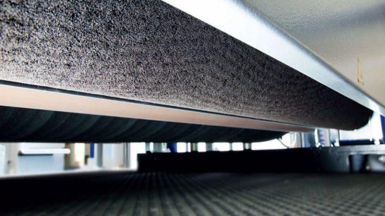 Precizní širokopásmová bruska SANDTEQ W-300 čištění