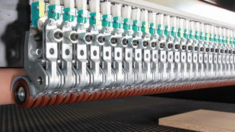 Precizní širokopásmová bruska SANDTEQ W-300 rolničky