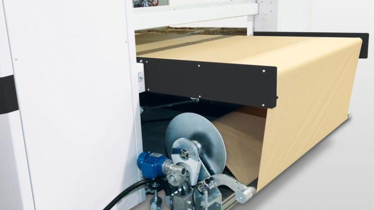 Lakovací stříkací automat SPRAYTEQ S-100 podkladový papír
