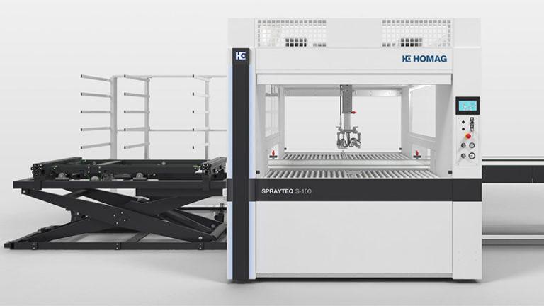 Lakovací stříkací automat SPRAYTEQ S-100