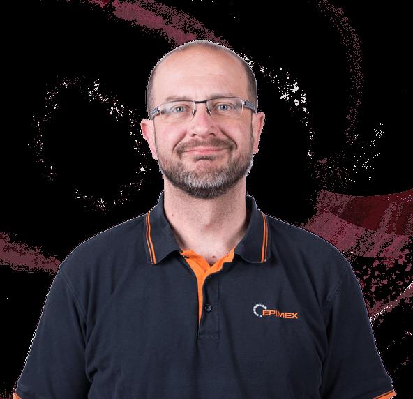 Martin Šujan - člen týmu Epimex