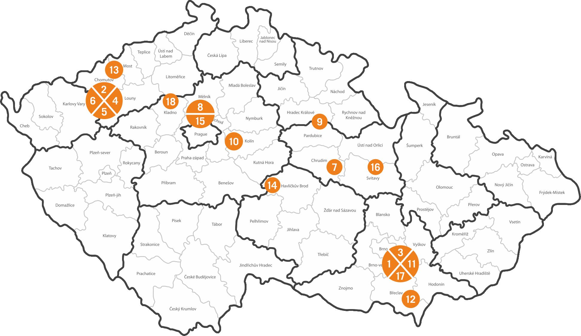 Mapy EPIMEX Servisni Tym