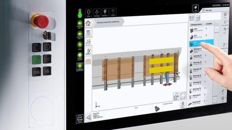 CNC CENTATEQ P-310 panel